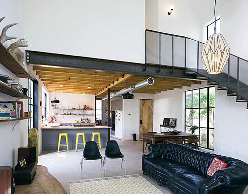 Landelijke industri le woning uit texax interieur inrichting for Woning meubels