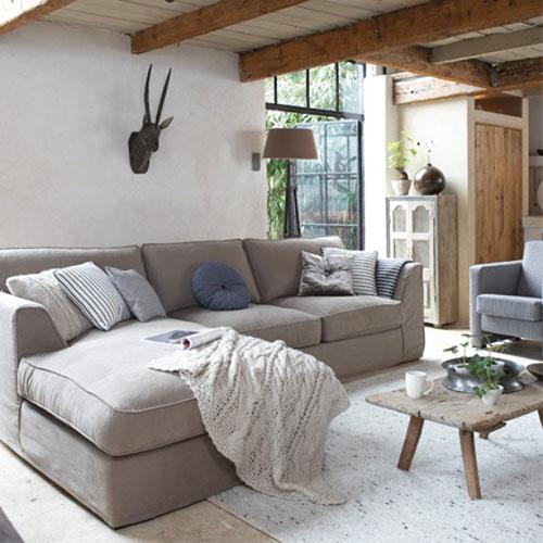 Landelijke inrichting woonkamer | Interieur inrichting