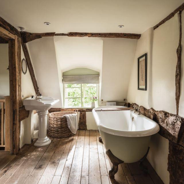 landelijke interieur landelijke wastafel badkamer