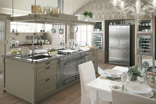 Gezellige Design Keuken : Elegant Kitchen Interior Design