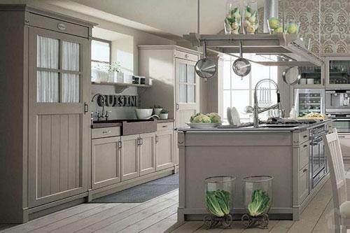 Keuken Landelijke Stijl : Landelijke keuken van english mood van minacciolo interieur