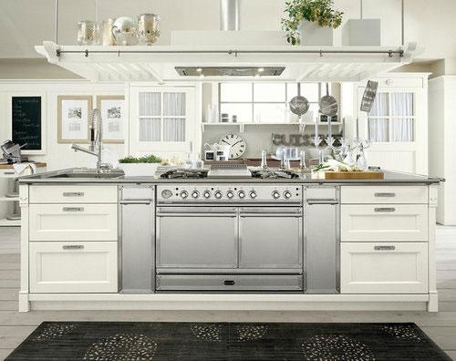 Favoriete Landelijke Keukens Met Kookeiland Ikea &TB42