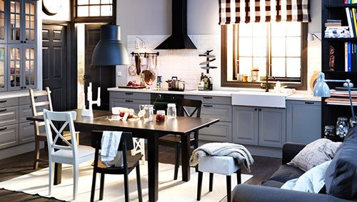 Landelijke keuken van IKEA