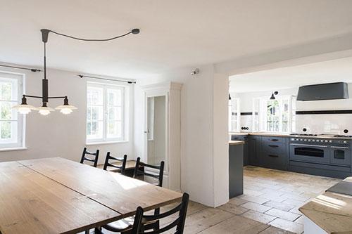 landelijke keuken van woonboerderij  interieur inrichting, Meubels Ideeën