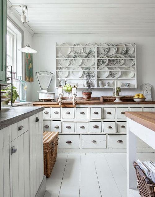 Keuken Landelijk Industrieel : Shabby Chic Kitchen Ideas