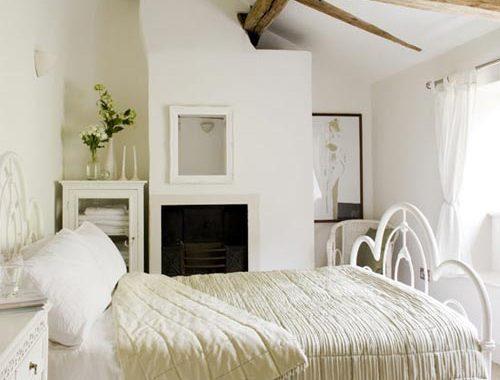 Landelijke slaapkamer ontwerpen