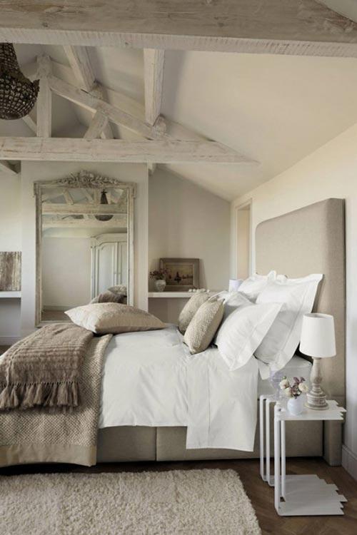 10 landelijke slaapkamer ontwerpen interieur inrichting - Engelse stijl slaapkamer ...
