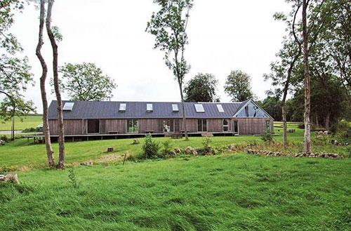 Landelijke woonboerderij in Zweden