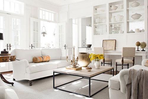Landelijke woonkamer door Darryl Carter | Interieur inrichting