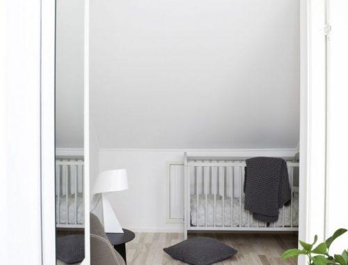Slaapkamer met t-indeling