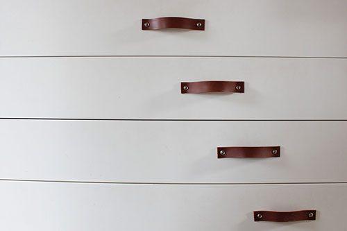 Leren handgrepen deurgrepen voor kasten deuren etc inspiratie
