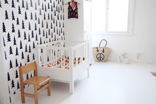 Leuk kinderkamer behang