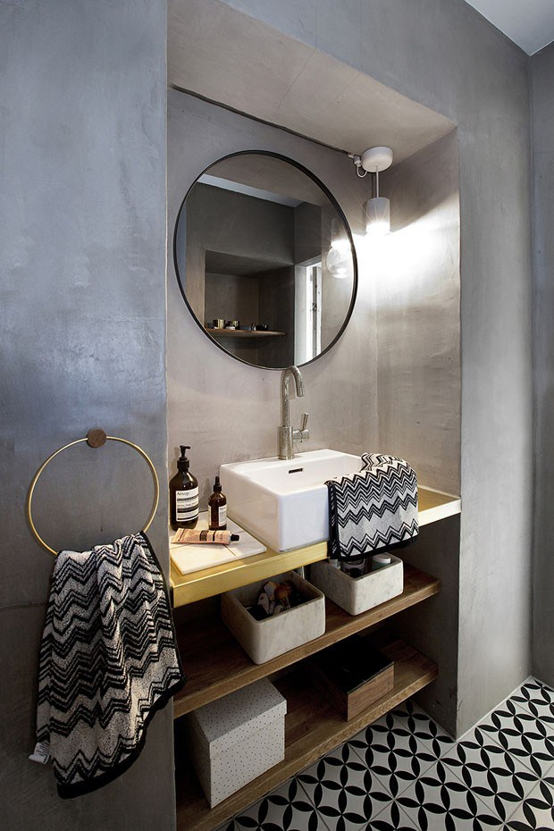 Leuke badkamer van instagrammer Ema Bihor
