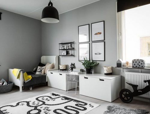 Grijs Kinderkamer Interieur Pictures to pin on Pinterest