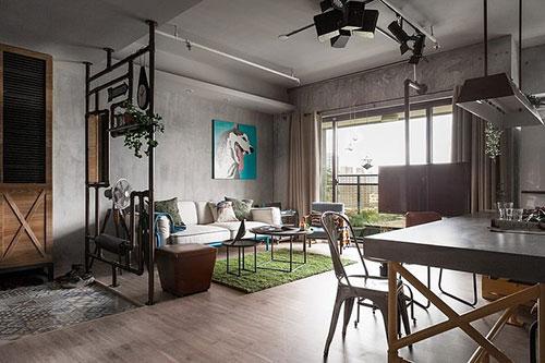 Leuke interieur idee n in appartement uit taiwan for Interieur inrichting ideeen