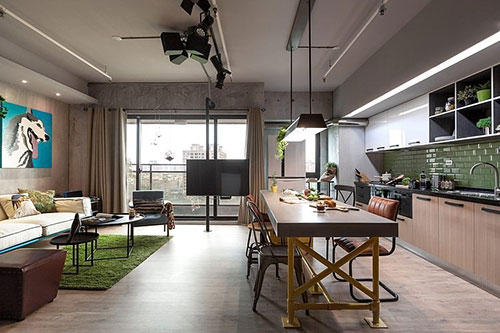 leuke interieur ideen in appartement uit taiwan