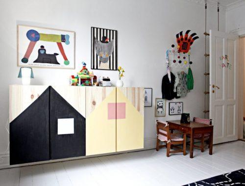 Leuke kasten voor de kinderkamer - IKEA IVAR kast