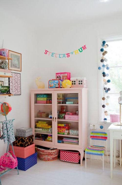 Leuke kasten voor de kinderkamer interieur inrichting - Deco kamer kind gemengd ...