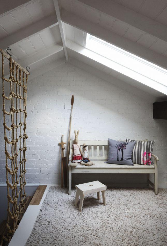 Kinderkamer Op Zolder : Leuke kinderkamer op zolder interieur ...