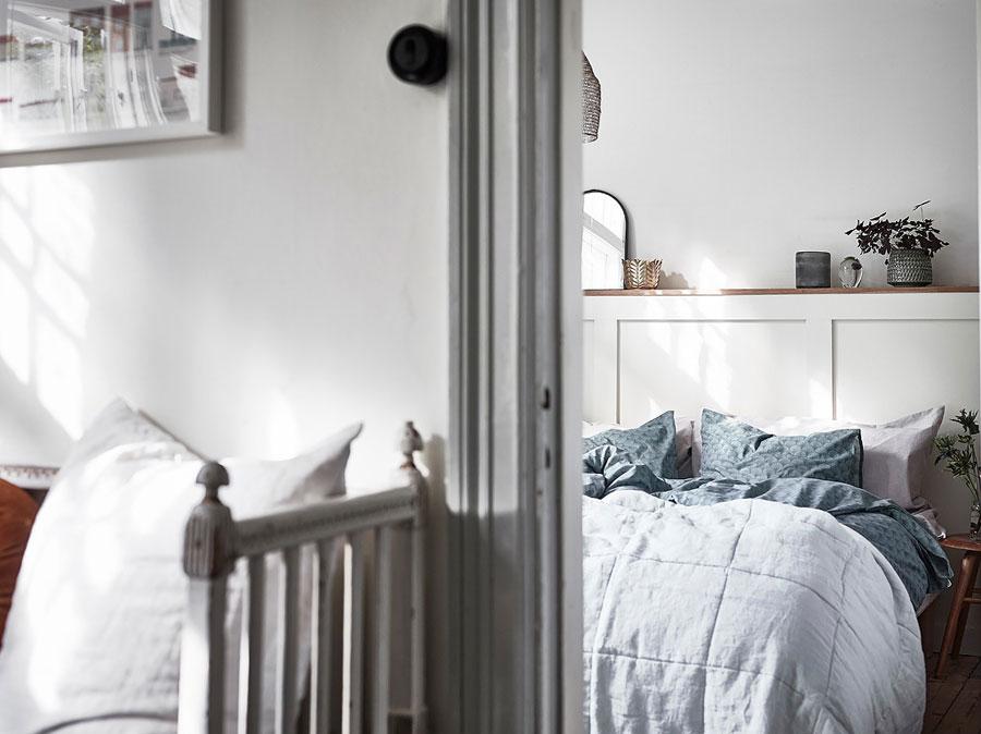 Leuke slaapkamer van een voormalig complex van zeemannen