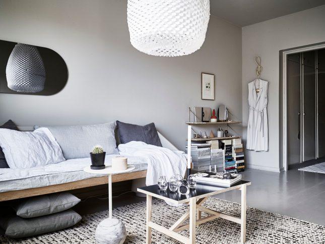 Leuke styling voor een kleine woonkamer