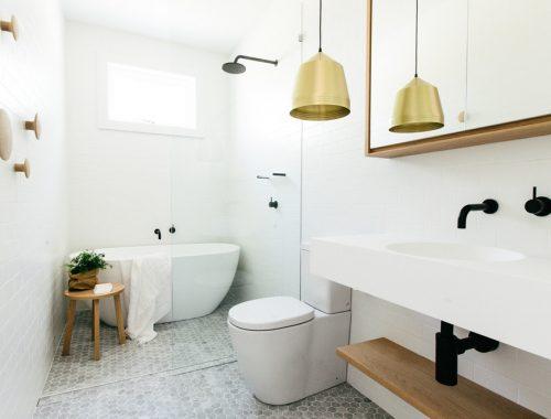Lichte badkamer door C+M studio