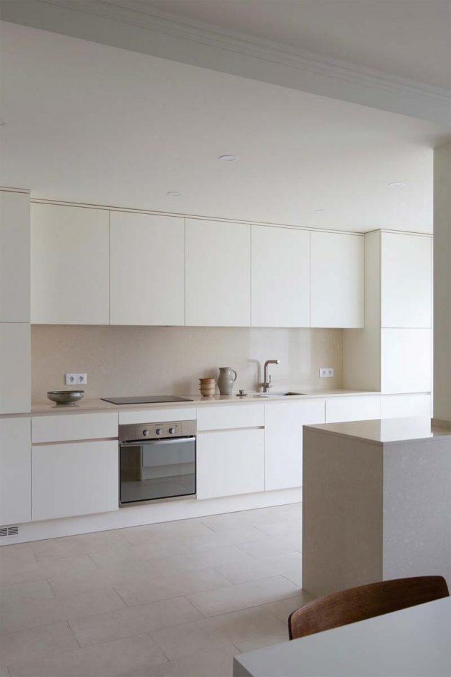 lichte keuken lichte muren