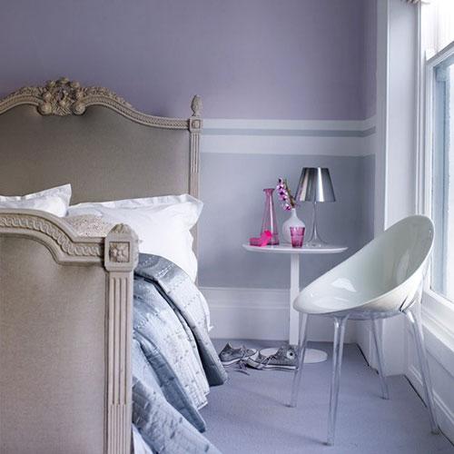 Lichte kleuren slaapkamer