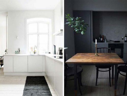 lichte of donkere keuken