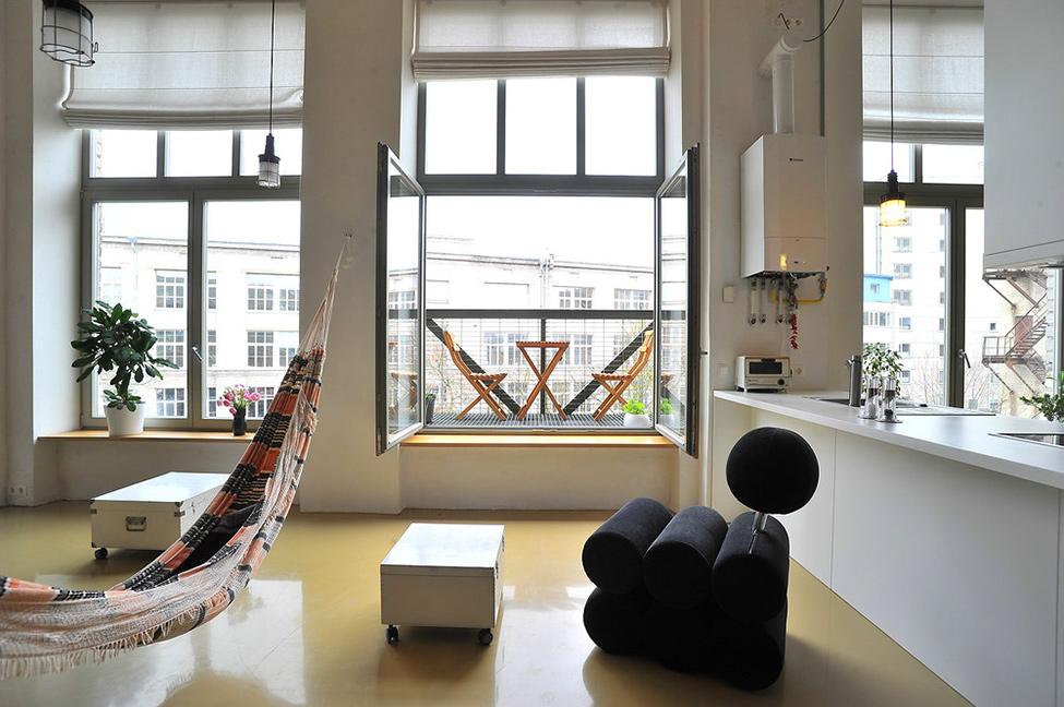 Lichte en ruime Loft in Litouwen