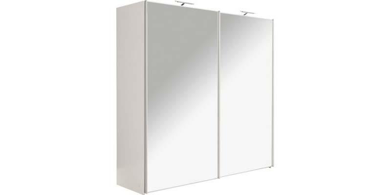linnenkast met spiegel schuifdeuren