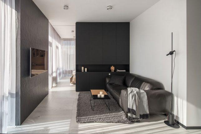 living inspiratie kleine moderne woonkamer