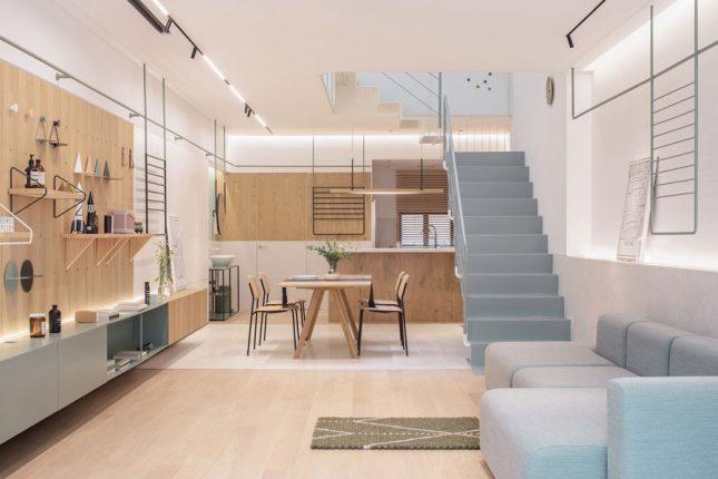 living inspiratie moderne scandinavische woonkamer