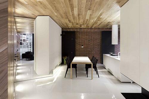 Loft appartement met moderne interieur idee n interieur for Interieur inrichting ideeen