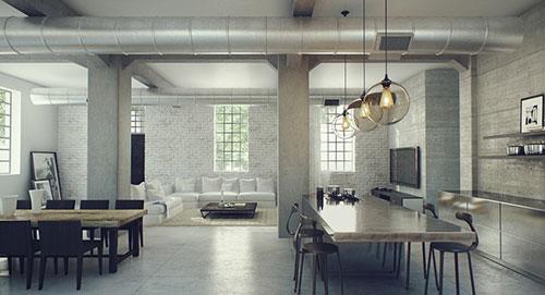 Loft interieur | Interieur inrichting
