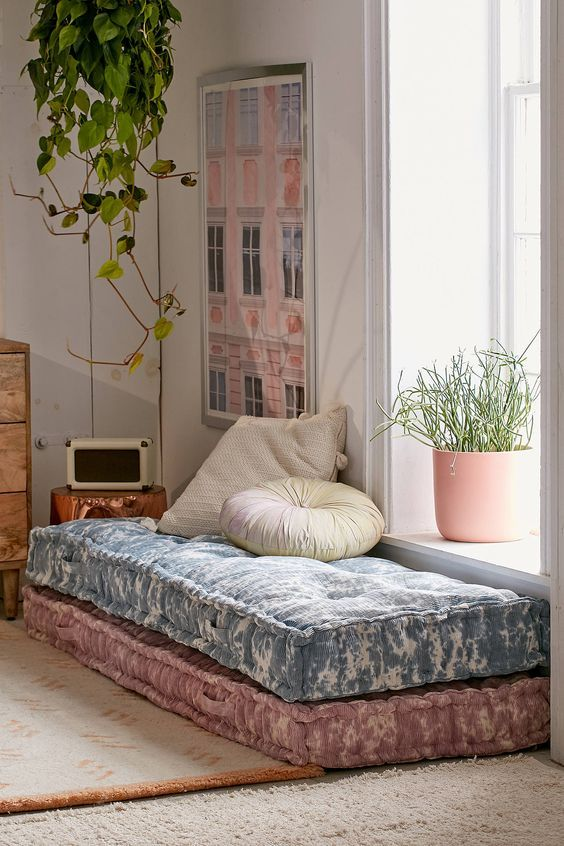 loungehoekje matrassen