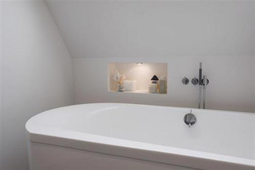 Luxe badkamer in appartement P.C. Hooftstraat