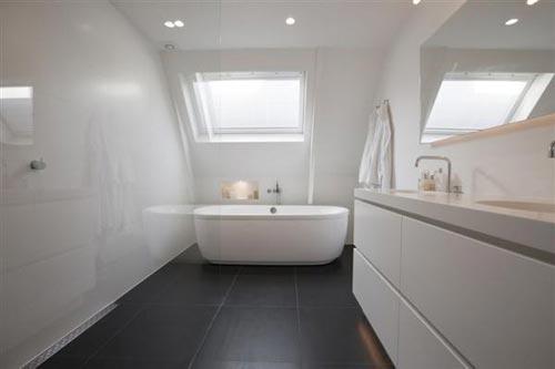 Graniet Werkblad Badkamer ~ Luxe badkamer in appartement P C Hooftstraat  Interieur inrichting