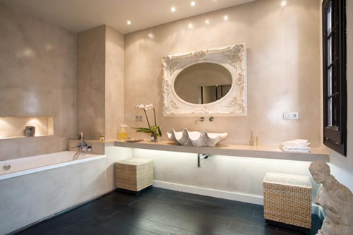 Interieur Inrichting Galerie : Luxe badkamer inrichting u devolonter