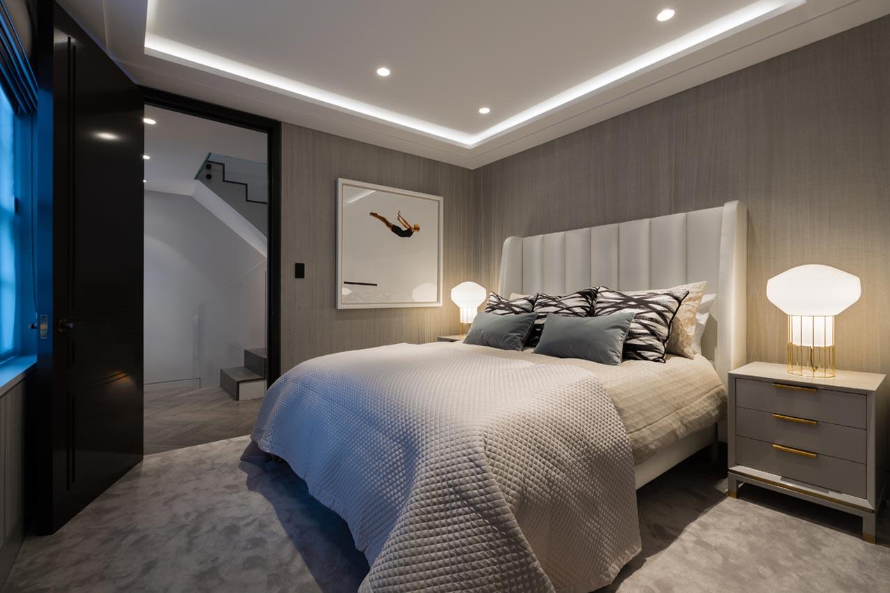 Luxe badkamer met zwart marmer interieur inrichting - Luxe marmer ...