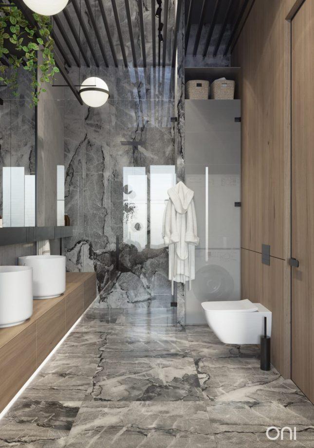 Luxe badkamers voorbeelden luxe loft