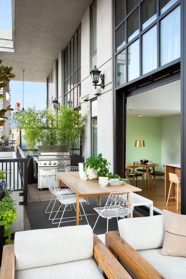Luxe balkon terras als tweede woonkamer | Interieur inrichting