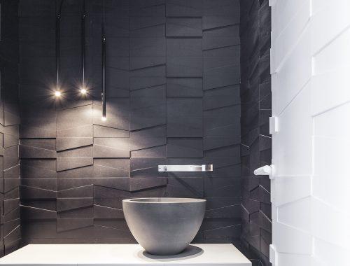 Luxe penthouse toilet