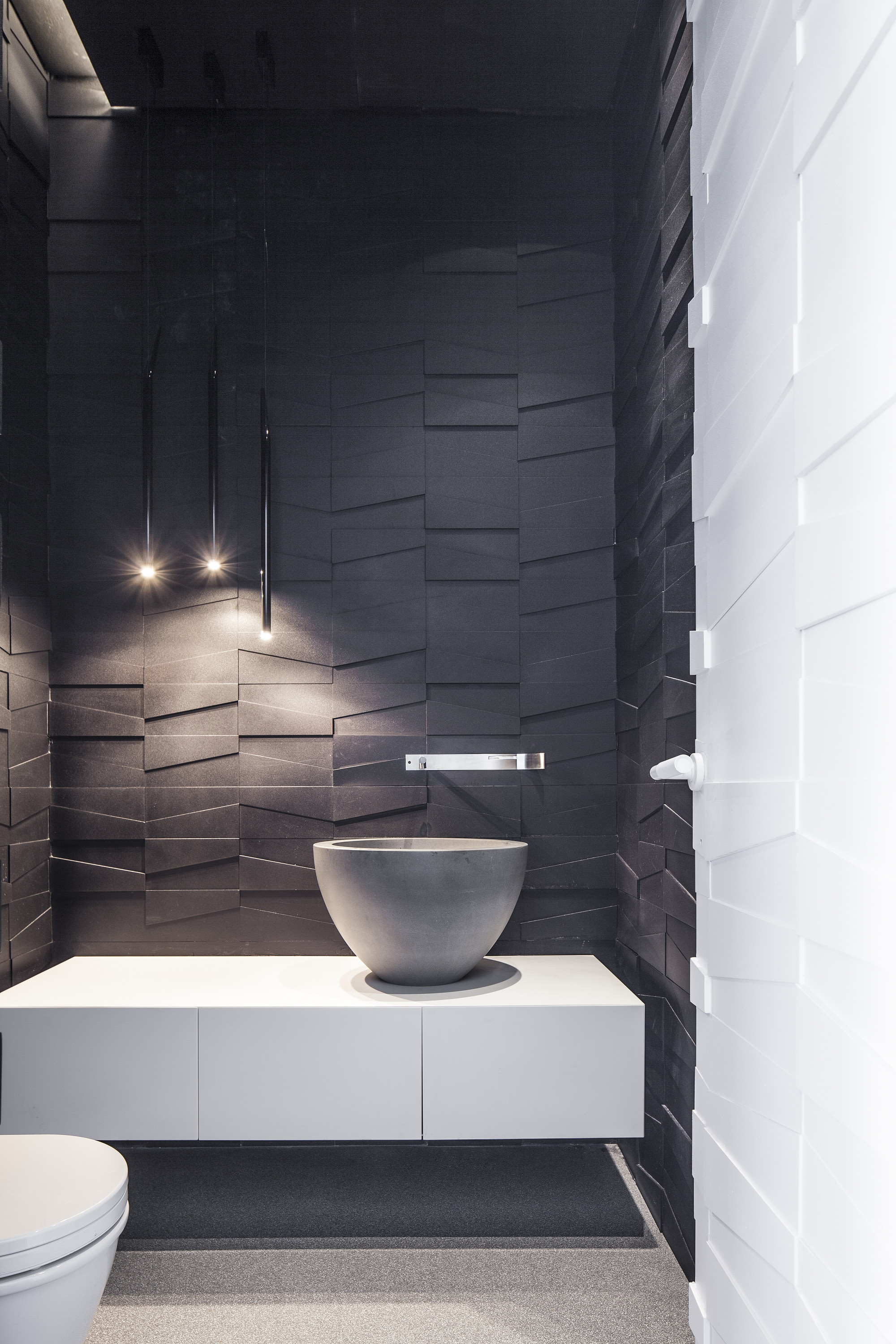 Luxe penthouse toilet interieur inrichting for Interieur inrichting