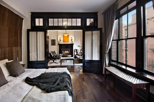 industri le slaapkamer van david uit new york interieur inrichting. Black Bedroom Furniture Sets. Home Design Ideas