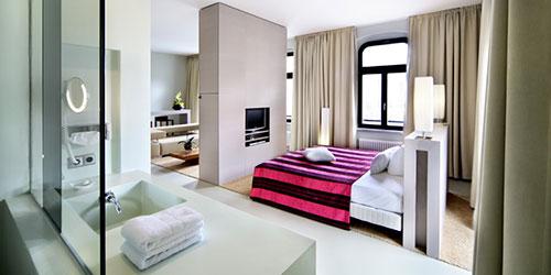 Luxe slaapkamer ontwerpen : Interieur inrichting