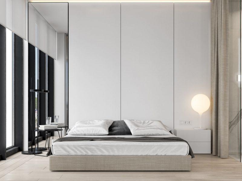 Luxe slaapkamer suite met open badkamer | Interieur inrichting