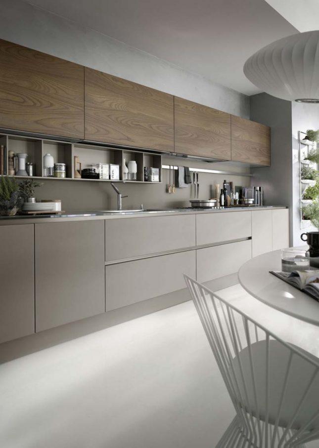 luxe taupe keuken