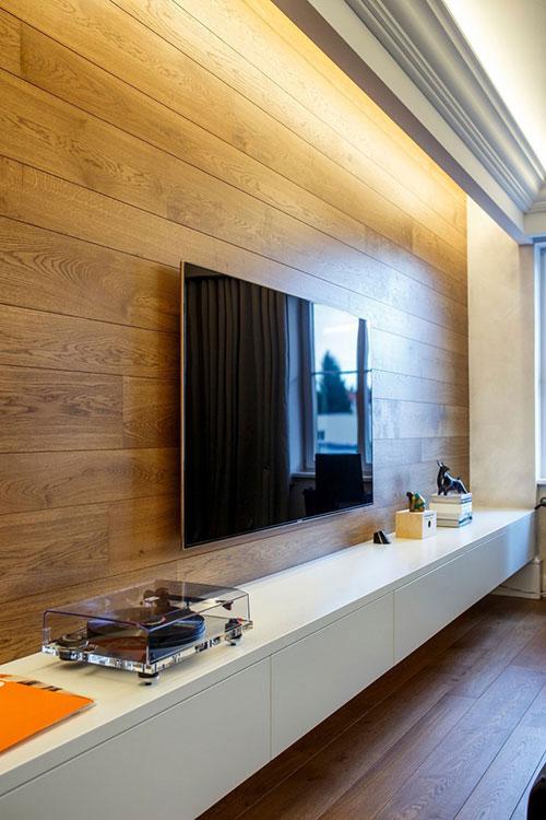 Luxe woonkamer met mannelijk tintje