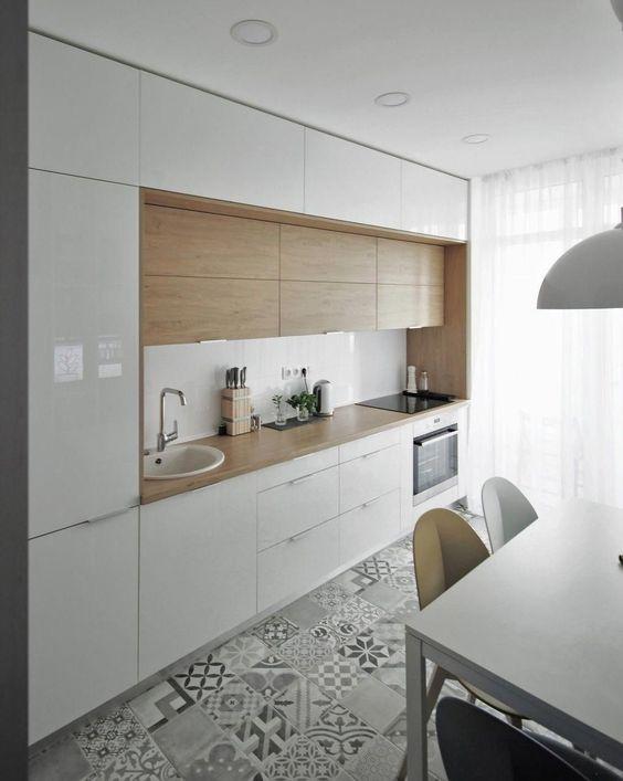 Maatkasten kleine keuken